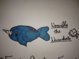 My Epic Critters~Norville the Narwhale by ScenePika