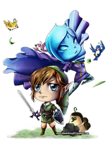 Choosen Hero - Link chibi by KaitouHyuuga