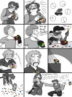 Rubix cubes are hard by Fevley