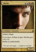 Magic card - Merlin by Ta-moe