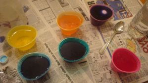 Egg Coloring by IndieChickZoey