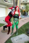 ALA12-Harley and Poison Ivy by moonymonster