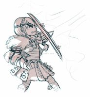 Astrid Sketch by Kiome-Yasha
