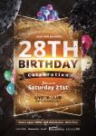 Birthday Party - Flyer by VectorMediaGR