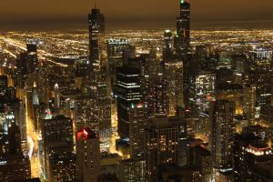 Night of Chicago 02 by theblindalley