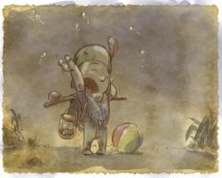 Thomas the Leap Year sketching Elf 11 by D-Gee