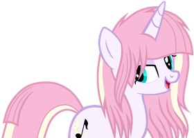Moon Melody's Official Debut by BlueRainiPony