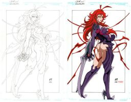 witchblade anime colo teste by psycomoon