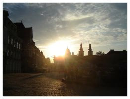 Sunset in Timisoara by whisper-my-name17
