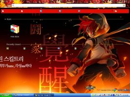 Grand Chase Jin Chrome Theme by Pwii-chan