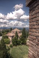 Cloudy Perugia by johnwaymont