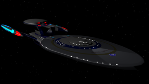 USS Trenalk NCC-1801-A Leviathan Class Refit V3 by Marksman104