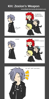 KH: Zexion's weapon by Black-Harmonia