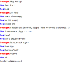 more omegle crap by LacedStargazing