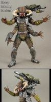 Heavy Infantry Predator custom figure by Jin-Saotome