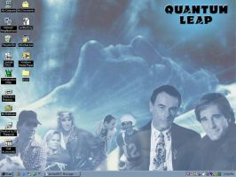 My Quantum Leap desktop by Eliza-the-artist