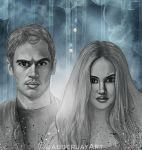 Divergent: Tris and Tobias by JabberjayArt