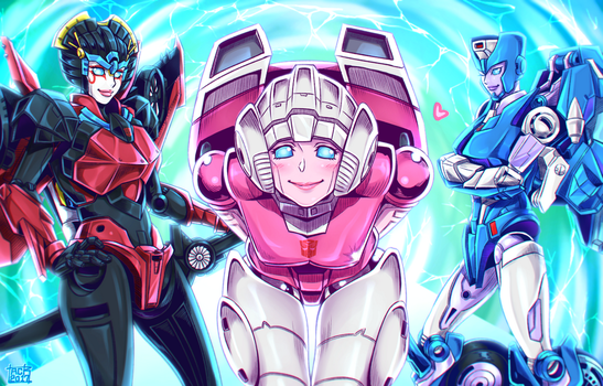 TFLegends Female Autobots by k-tack