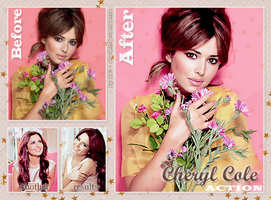 Cheryl Cole Action by Sharah11