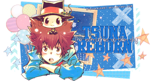 Tsuna and Reborn - Firma by MyrkaRauda97