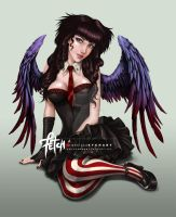 GOTHIC Girl by FranciscoETCHART