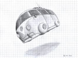 VW-Bus futureConcept by maxf