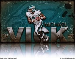 Mike Vick Wallpaper by xARCHETYPEx