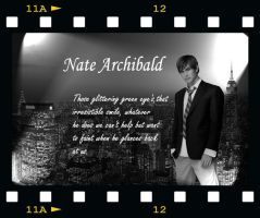 Gossip Girl Nate Archibald by blonddiva