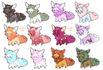 (OPEN) PAYPAL/POINTS ADOPTS - BIG SOFTIE BATCH by BottleIt