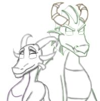 Parents of Cynder progress by SexyCynder
