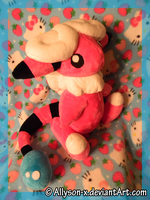 Flaaffy Plush by Allyson-x