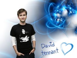 David Tennant Wallpaper by davids-little-star