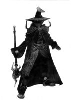Black Mage by AdamIsAPsycho