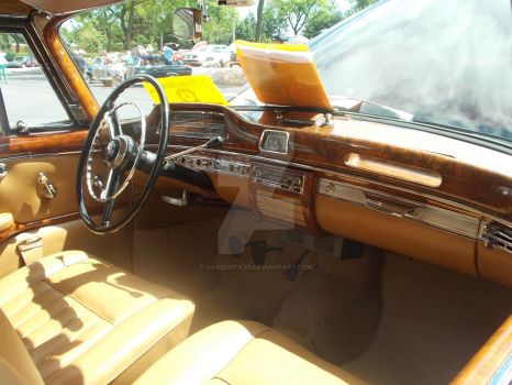 1957 Mercedes Cabriolet Interior by David3State