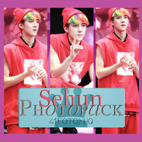 Photopack Sehun- Exo 002 by DiamondPhotopacks