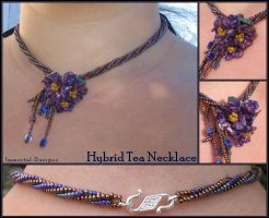 Hybrid Tea Necklace by immortaldesigns