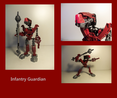 Bionicle MOCs: Infantry Guardian by Shadowmarx