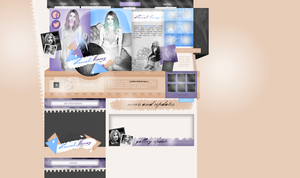 Layout ft. Hannah Murray by PixxLussy