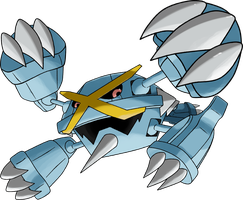 Mega Metagross by TheAngryAron