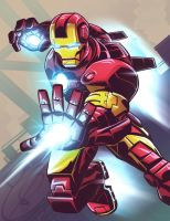 Iron Man - Commission by EryckWebbGraphics
