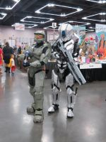 Master Chief and Prefect Spartan by ZombieGrimm