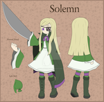 Solemn Reference Sheet by HellStorm8000