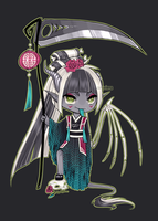 Oriental Grim Reaper [Adoptable] CLOSED by Siraviena