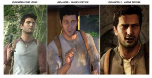 Uncharted 1 vs Uncharted 2 by gtone339