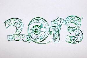 2013 quilling by CherJu