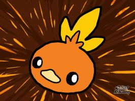 1st Torchic (Pokemon Art Academy) by laprasking