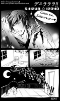 Izaya is pr0n by Ero-Pinku