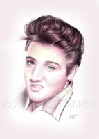 Elvis by DominiqueKirkby