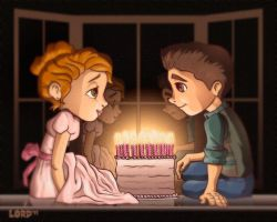 Lil Sixteen Candles by lordmesa