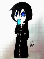 Xion inktober by PunkyGothic
